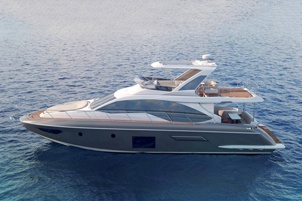 Azimut 55 Fly ext
